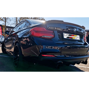 2 Series – M4 CS Style Boot Spoiler CF