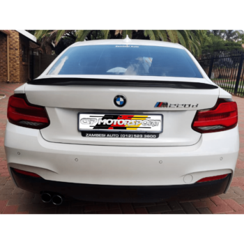 2 Series – M Performance Boot Spoiler GB/CF