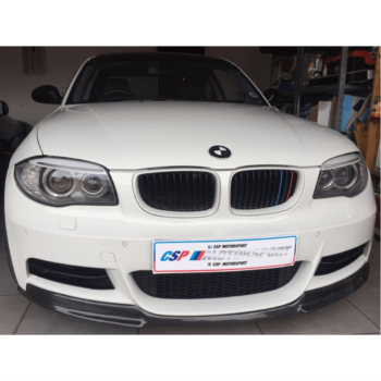 1 Series – V Style Front Lip CF/GB