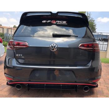 GTI/R Rear Diffuser GB