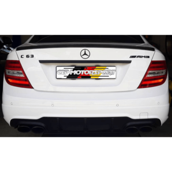 C63 Facelift – Boot Spoiler CF