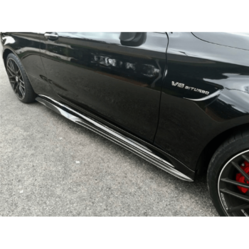 C63 Sedan/Coupe – PSM Side Skirt Extensions