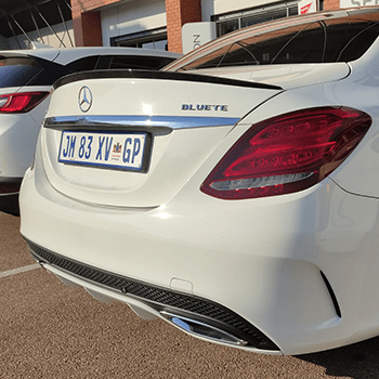AMG Bootspoiler